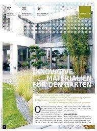 innovative materialien für den garten - Forster Gärtner von Eden
