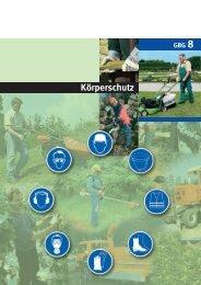 Körperschutz im Gartenbau - GBG 8 - LSV