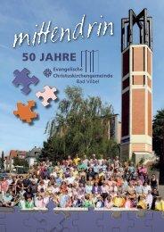 Mittendrin - 50 Jahre Christuskirche - Christuskirchengemeinde Bad ...
