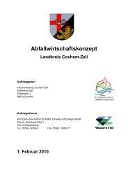 Abfallwirtschaftskonzept.pdf, 1,66 MB - Landkreis Cochem-Zell