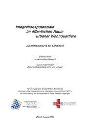 Integrationspotenziale im öffentlichen Raum ... - Kind und Umwelt