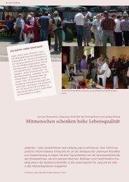 Schwerpunkt Ehrenamt - St. Anna-Hilfe gGmbH