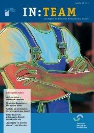 IN : TEAM Ausgabe: Nr. 3, Thema: Arbeit - NGD - Gruppe ...