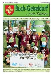 Gemeindezeitung 07_2009.indd - Gemeinde Buch-Geiseldorf