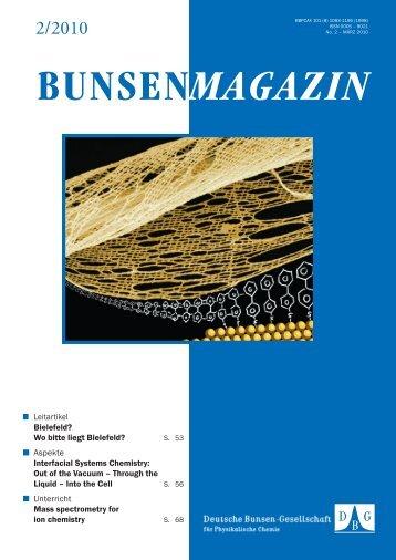 BuMa_2010_02 - Deutsche Bunsengesellschaft für Physikalische ...