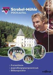 Broschüre CVJM Strobel-Mühle e.V. - Strobel-Mühle Pockautal