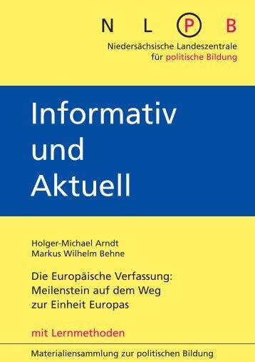 Die Europäische Verfassung - Politische Bildung Online
