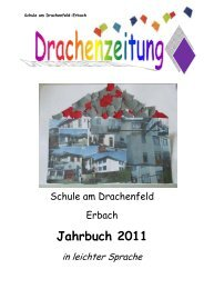 Jahrbuch 2011 - Schule am Drachenfeld