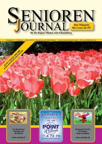 Ausgabe 17 - Feb. / März 2010 - Senioren Journal