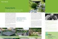Praxis: Material Naturstein - Gärtner von Eden