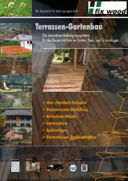 Terrassen-Gartenbau