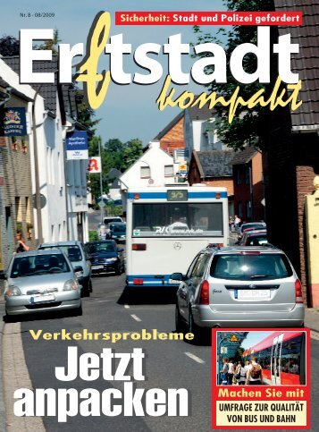 Heft 8 /2009 - Erftstadt kompakt