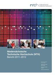 (NTH) Bericht 2011–2012 - TU Clausthal