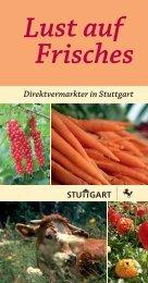 Stuttgart - Infodienst Landwirtschaft - Baden-Württemberg