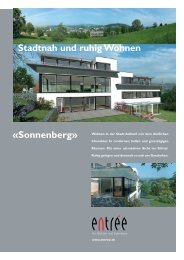 Prospekt Sonnenberg Adliswil - entree Architekten & Ingenieure AG ...
