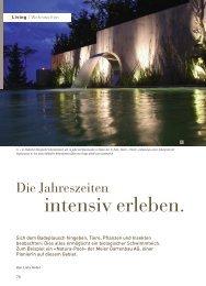 Schwimmteich Living - Meier Gartenbau AG