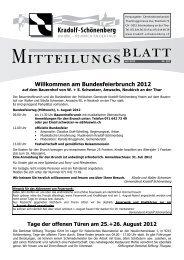 Mitteilungsblatt Juli 2012 - Gemeinde Kradolf-Schönenberg
