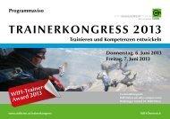 TRAINERKONGRESS 2013 - Wifi