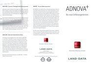 Flyer ADNOVA+ - LAND-DATA GmbH