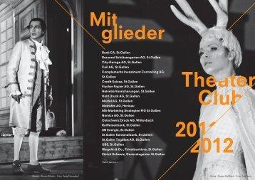 aktuellen Programm - Theater St. Gallen