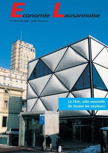 Economie Lausannoise 1/2009 - SIC Lausanne & Environs