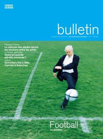 Football - Credit Suisse eMagazine