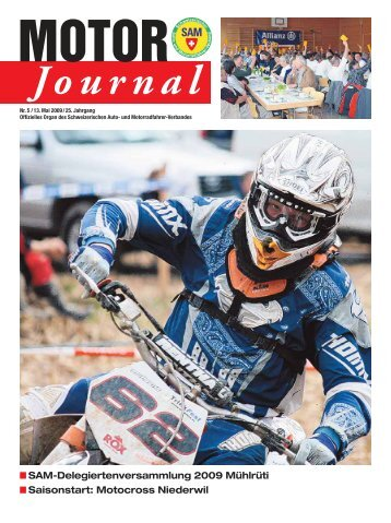 Motor Journal Nr. 05 / 2009 hier herunterladen (PDF - SAM