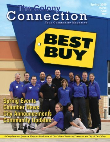 2009 Spring Issue of The Colony Connection