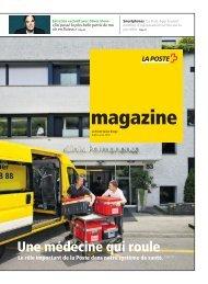 magazine - La Poste Suisse bouge