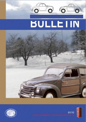 BULLETIN - Topolino Club Zürich