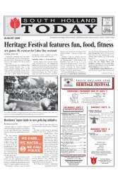 Heritage Festival features fun, food, fitness - Village of South Holland