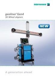 geoliner®Gen4 3D Wheel aligners