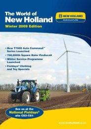 Winter 2009 Edition - New Holland