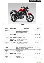 VTR 250_2011.xlsx - Honda