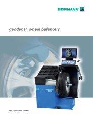 geodyna® wheel balancers