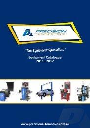 """The Equipment Specialists"" - Precision Automotive Equipment"