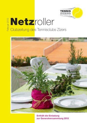 13 Netzroller - Tennisclub Zizers