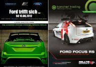 Ford trifft sich Vol.1 Ford trifft sich Vol.1 - FORD Focus RS & ST ...