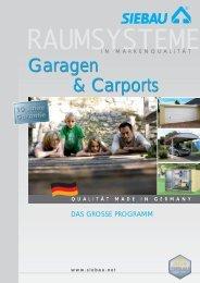Garagen & Carports Garagen & Carports - HWG-Tec