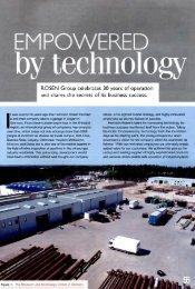 ROSEN Group celebrates 30 years - ROSEN Inspection Technologies