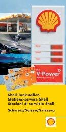 Shell Tankstellen Stations-service Shell Stazioni di servizio Shell ...