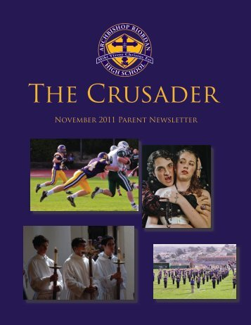 Download Current Newsletter - Archbishop Riordan High School