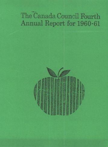 Annual Report 1960-1961