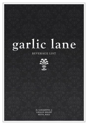 here - Garlic Lane Restaurant