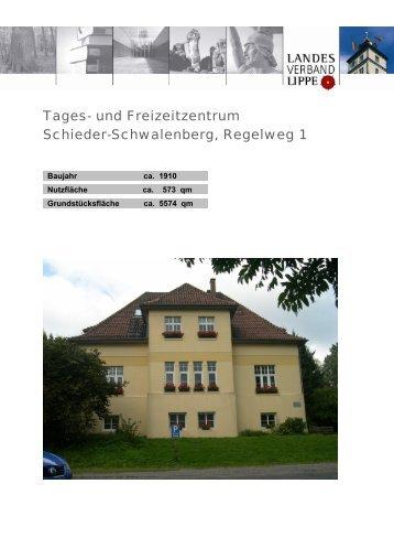 Tages- und Freizeitzentrum Schieder-Schwalenberg, Regelweg 1