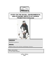 Study on the social, environmental and economic impacts of quinoa ...
