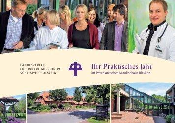 Ihr Praktisches Jahr - Landesverein für Innere Mission in Schleswig ...
