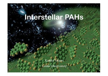 Interstellar PAHs