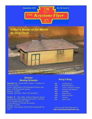 September 2012, Volume 54, Issue 8 - Keystone Division