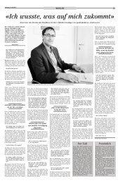 «Ich wusste, was auf mich zukommt» - Fricker Rechtsanwälte